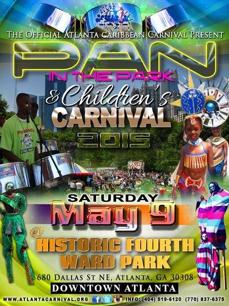 Atlanta Childrens Carnival and Pan In the Park 2015