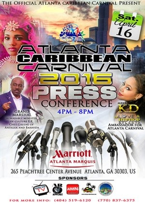 ACCBA Atlanta Carnival 2016 Press Conference