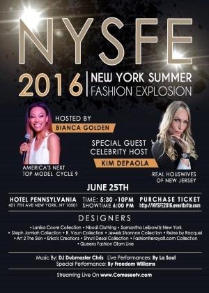 New York Summer Fashion Explosion 2016