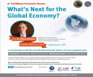 Caribbean Economic Forum - What's Next for the Global Economy