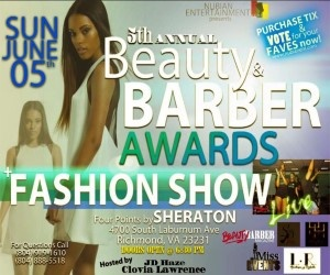 5th Annual Beauty & Barber Awards Hair & Fashion Show