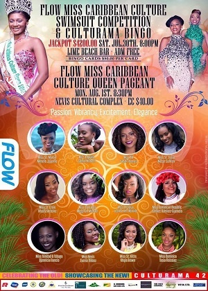 Flow Miss Caribbean Culture Pageant 2016