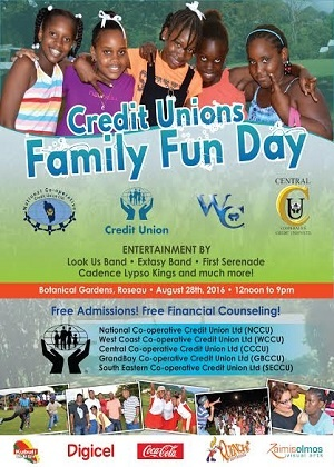 Dominica Credit Unions Family Fun Day 2016