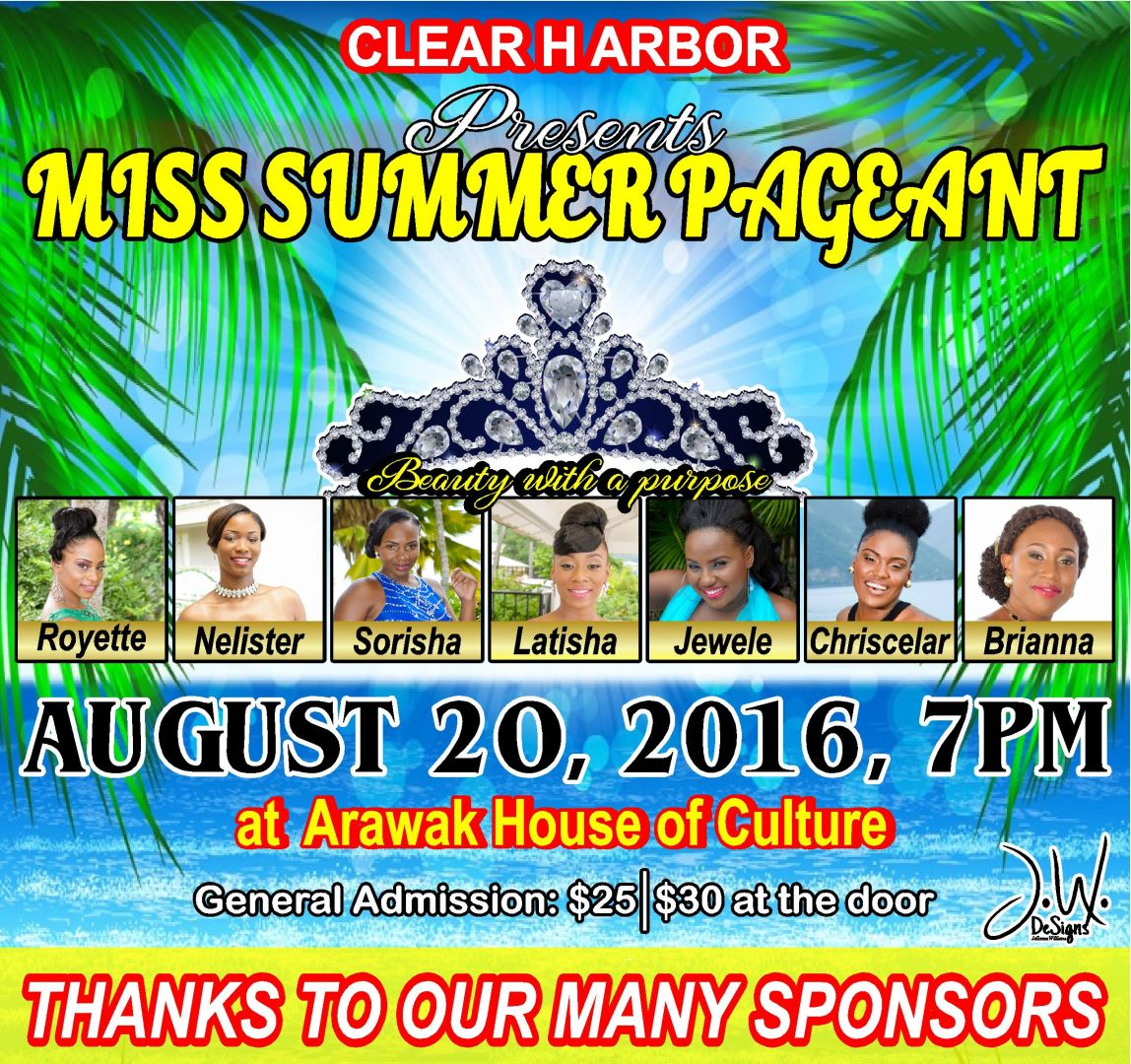 Clear Harbor Miss Summer Pageant 2016