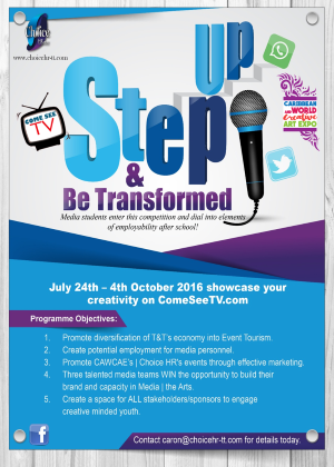 Step Up & Be Transformed! 2016