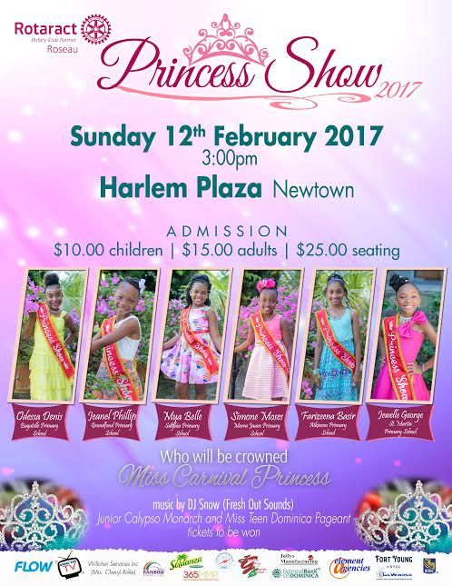 Dominica Carnival Princess Show 2017