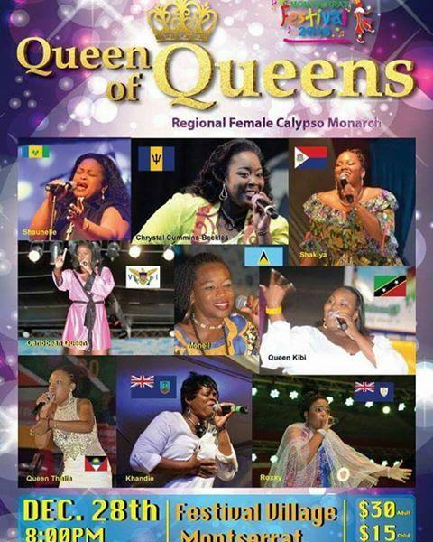 Regional Female Calypso Show 2016