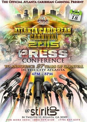 '''Atlanta Caribbean Carnival 2015 Press Conference Live'''