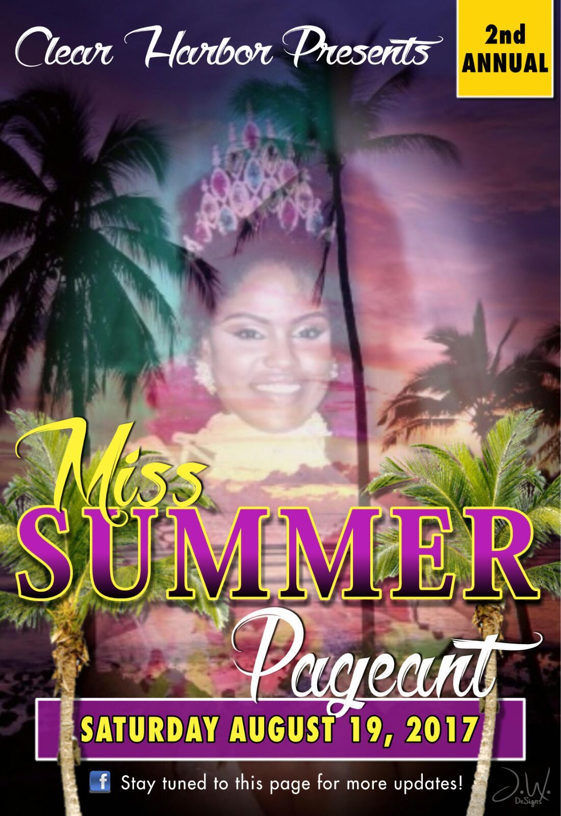 Clear Harbor presents the Miss Summer Pageant 2017