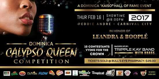 Dominica Calypso Queen Competition 2017