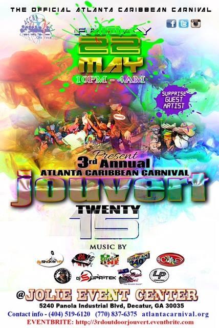 ''Atlanta Caribbean Carnival Jouvert 2015''