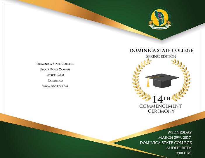 Watch the Dominica State College (March) 2017 Graduation Ceremony