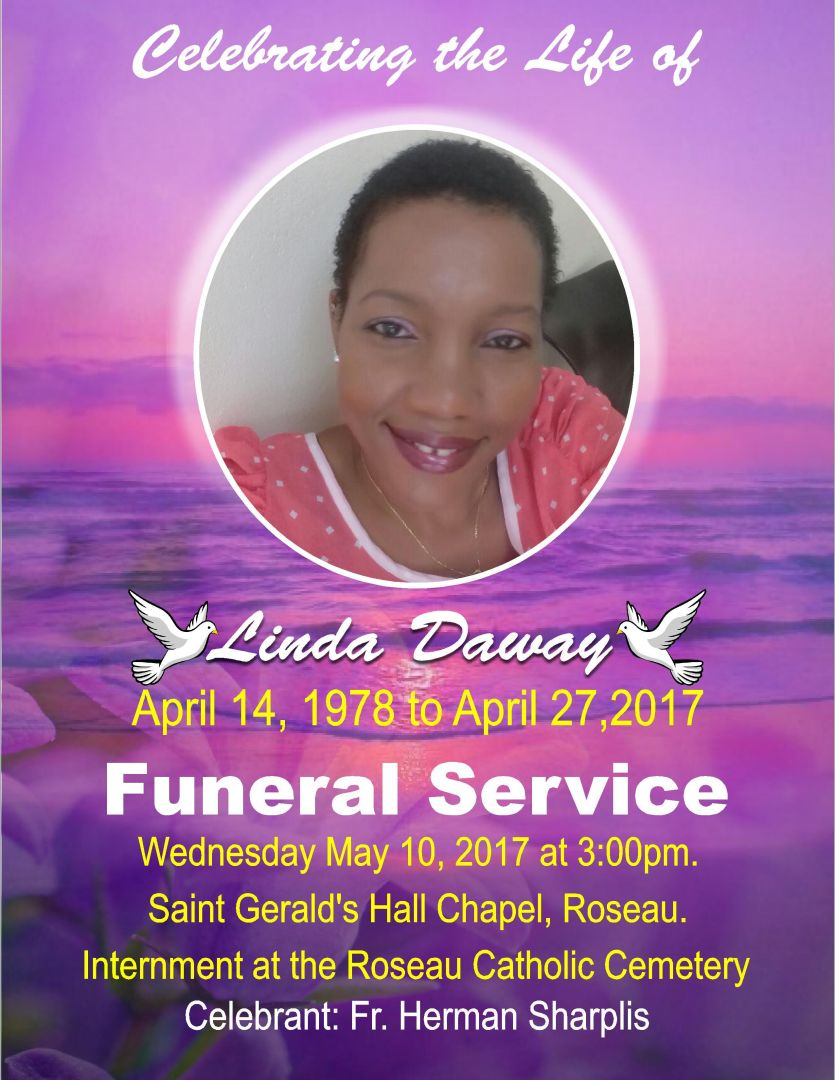 Funeral Service of Linda Daway (10th May 2017)