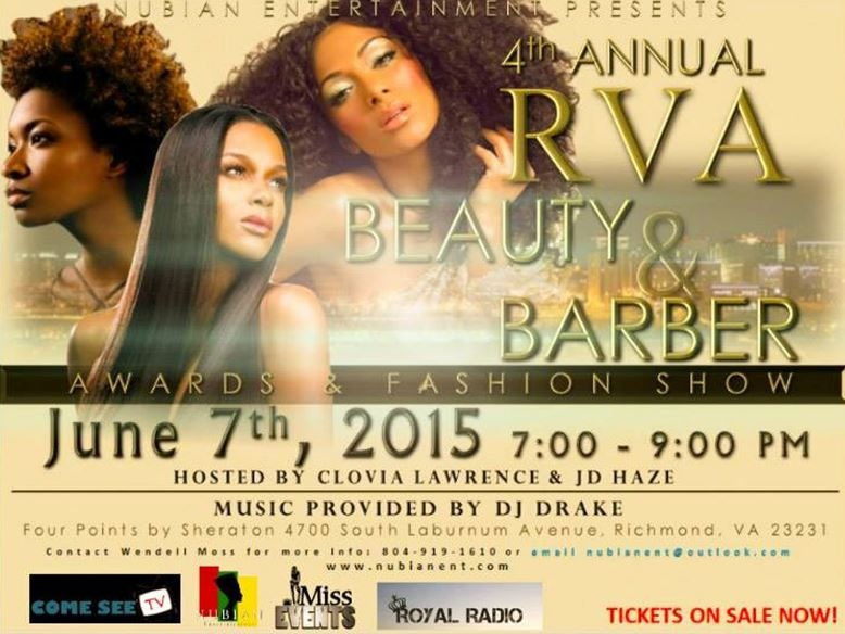 ''' 4th Annual RVA Beauty & Barber Awards Hair & Fashion Show'''