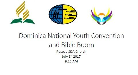 ANYA Presents Dominica National Youth Convention and Bible Boom 2017