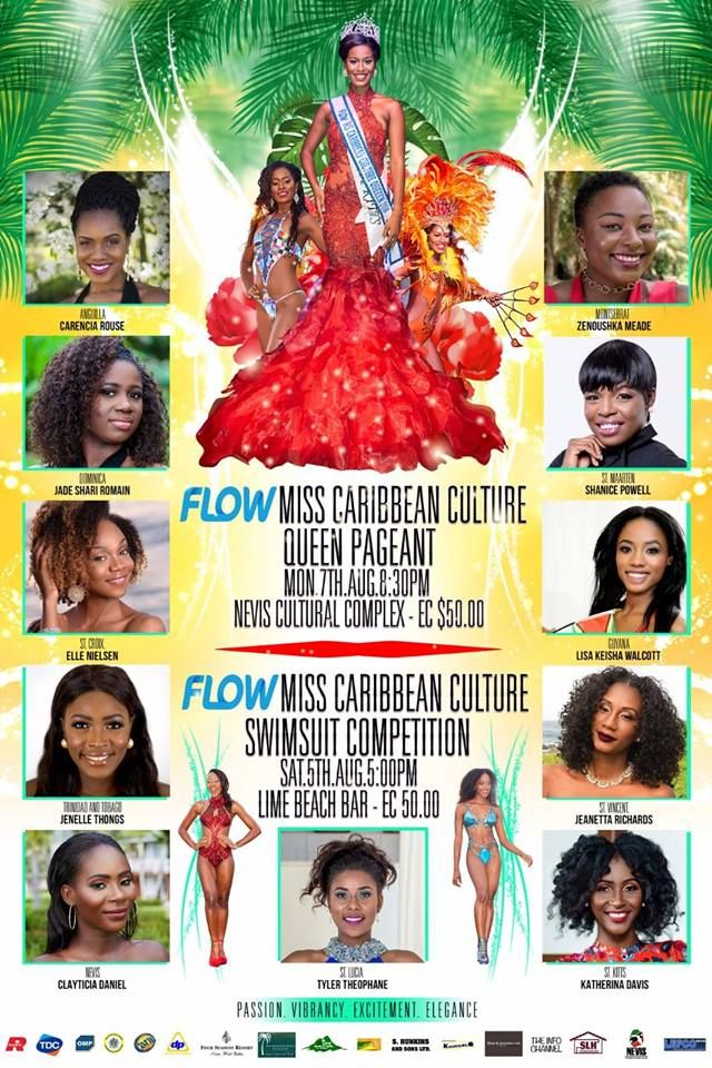 Flow Miss Caribbean Culture Pageant 2017 (Swimsuit Competition and Pageant)