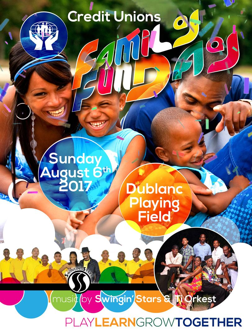 Dominica Credit Unions Family Fun Day 2017