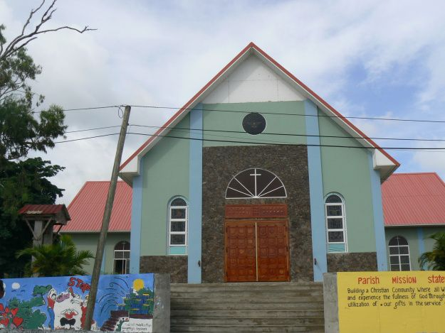 New Roman Catholic Church in Portsmouth, Dominica