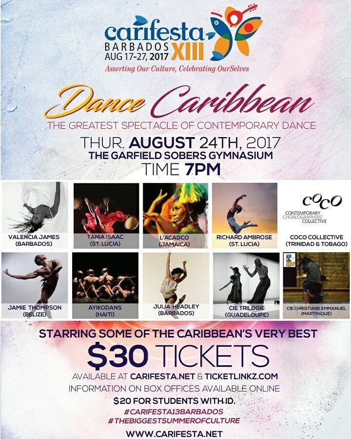 CARIFESTA XIII - PAY PER VIEW SIGNAL EVENT - Dance Caribbean featuring Dancin' Africa