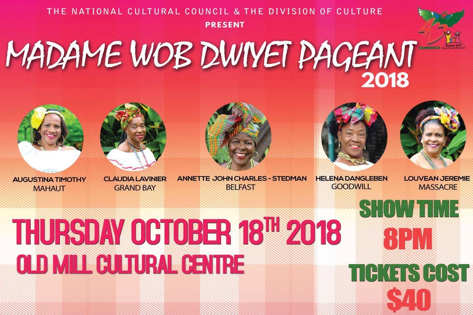 Madame Wob Dwiyet Pageant 2018