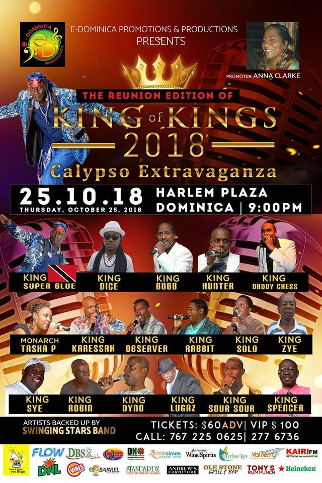 King of Kings Calypso Show 2018 (Reunion Edition)