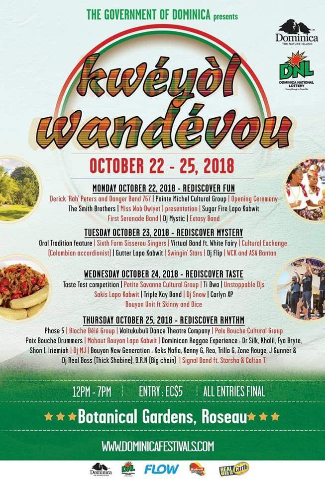 Kweyol Wandevou 2018