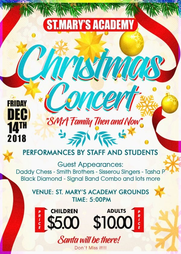 SMA Family Then and Now Christmas Concert