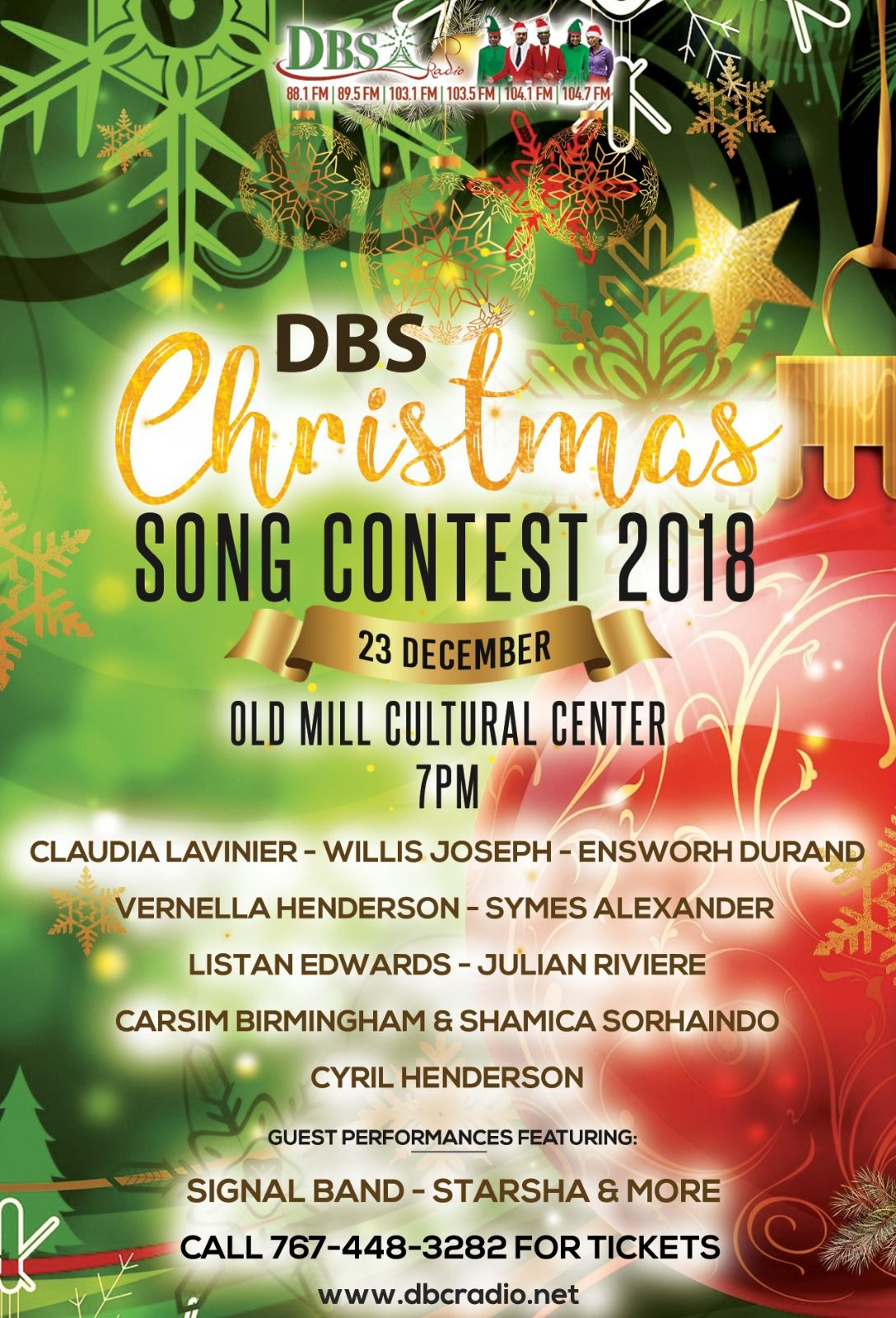DBS Christmas Song Contest 2018