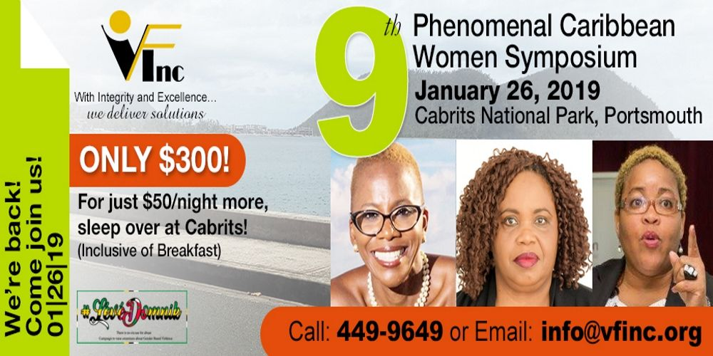 VFInc 9th Phenomenal Caribbean Women Symposium