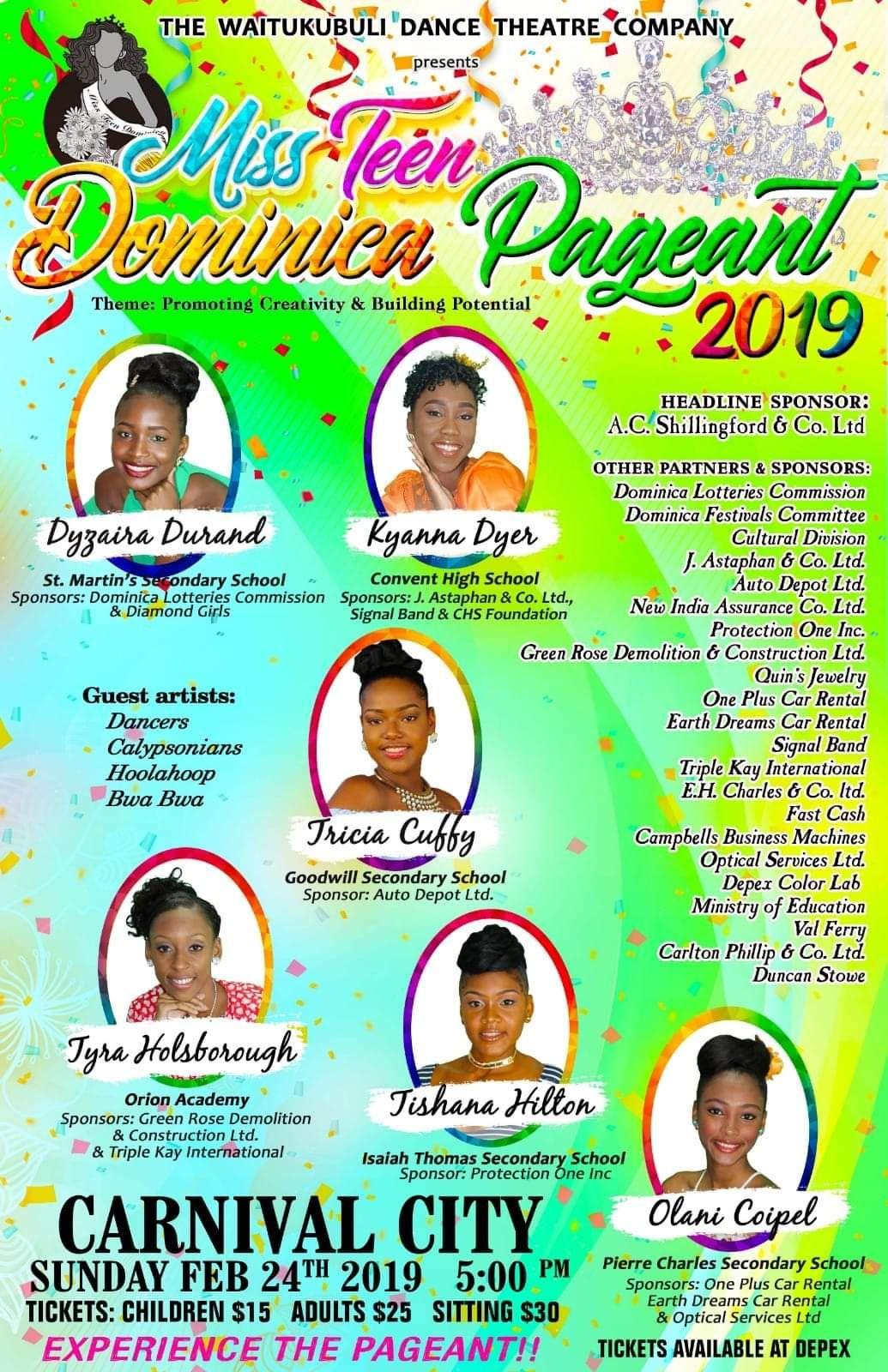 Miss Teen Dominica 2019