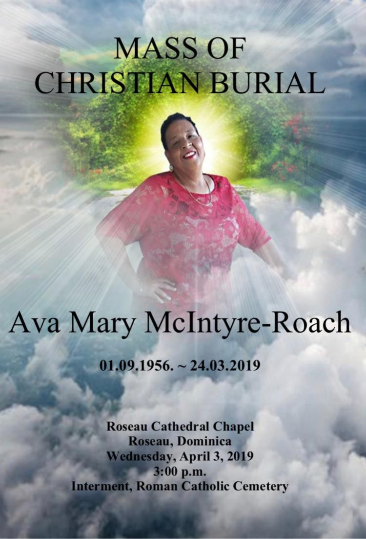 Funeral Service of Ava Mary McIntyre-Roach