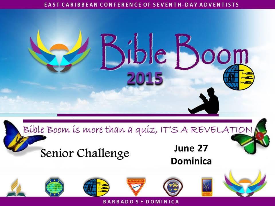 'Bible Boom 2015 Senior Challenge'