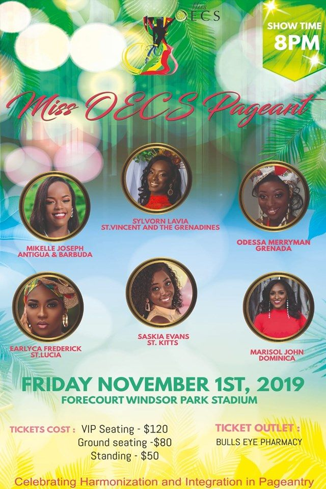 Miss OECS Pageant 2019