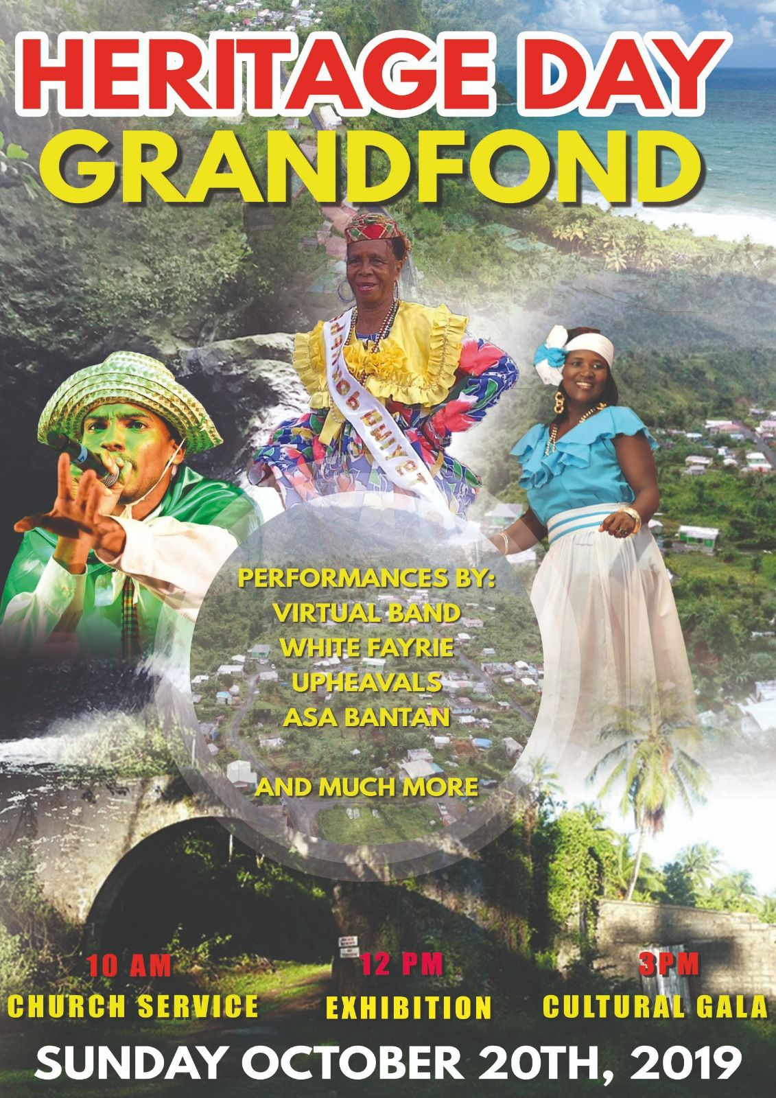 Heritage Day Dominica 2019 in Grand Fond