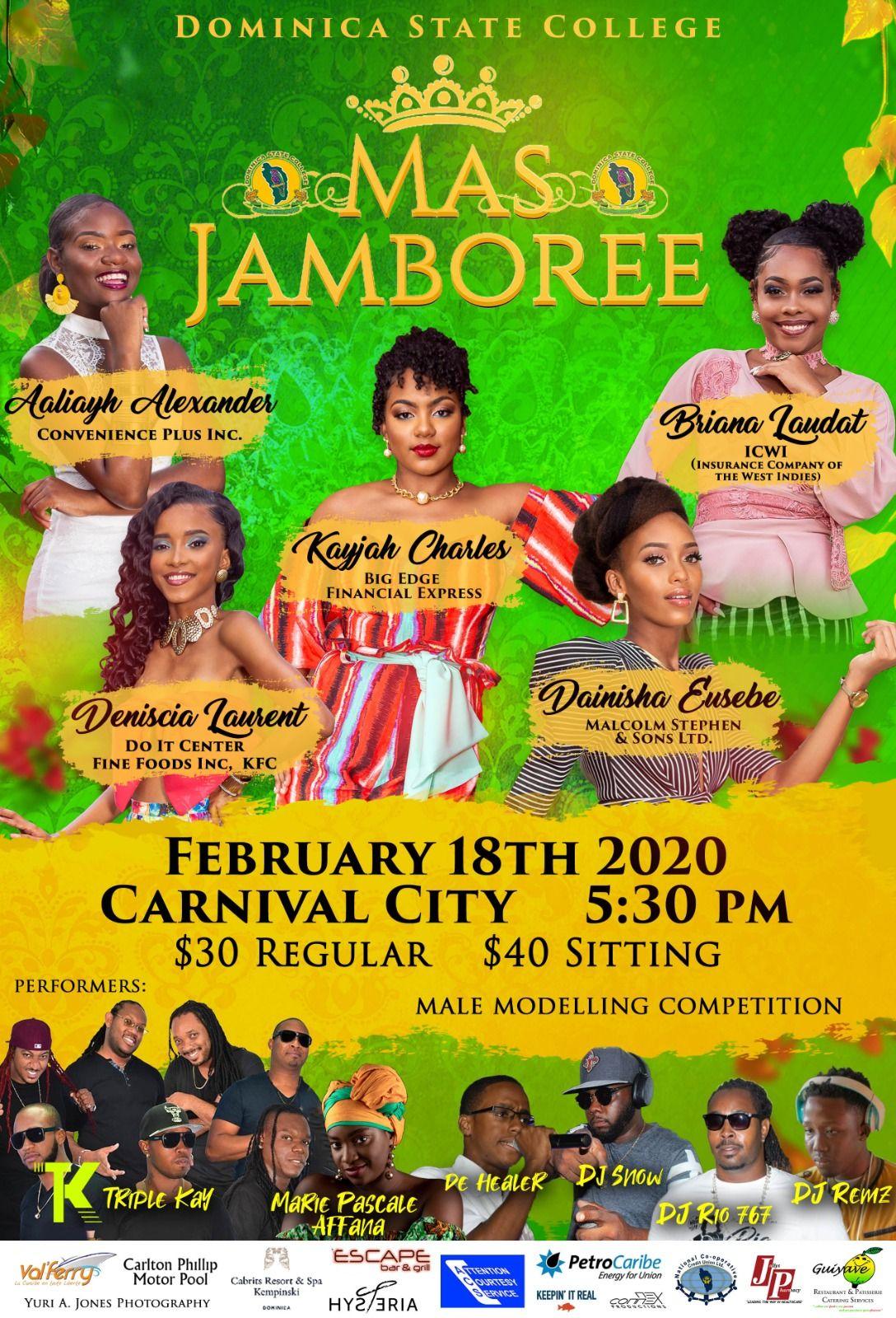 Miss DSC Mas Jamboree 2020