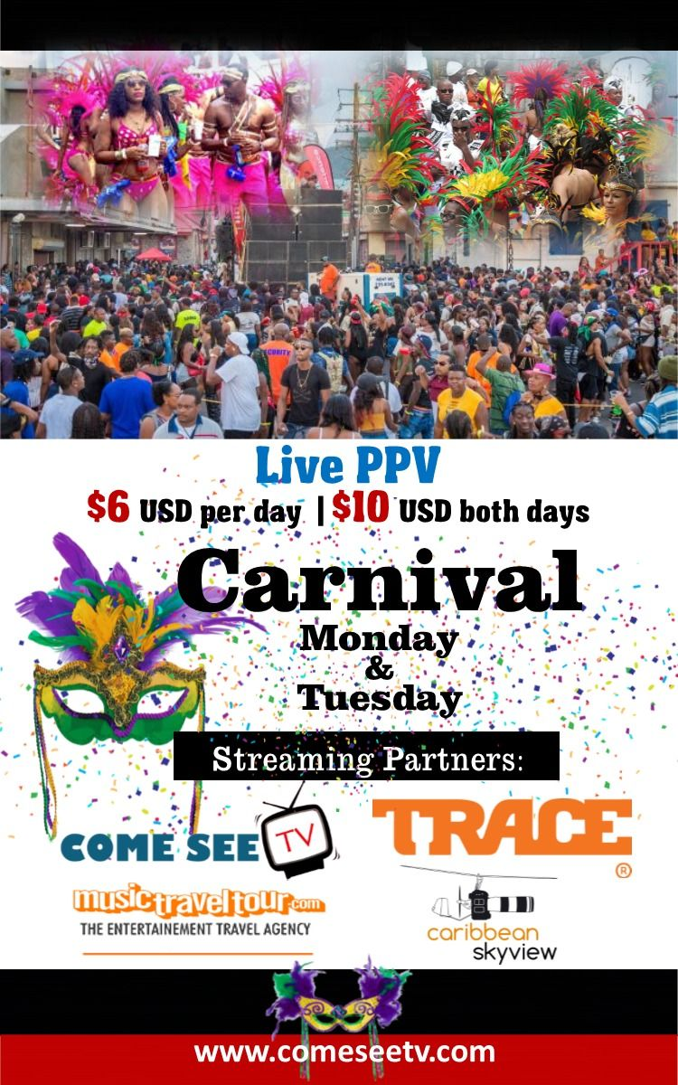 Dominica Carnival Monday and Tuesday 2020