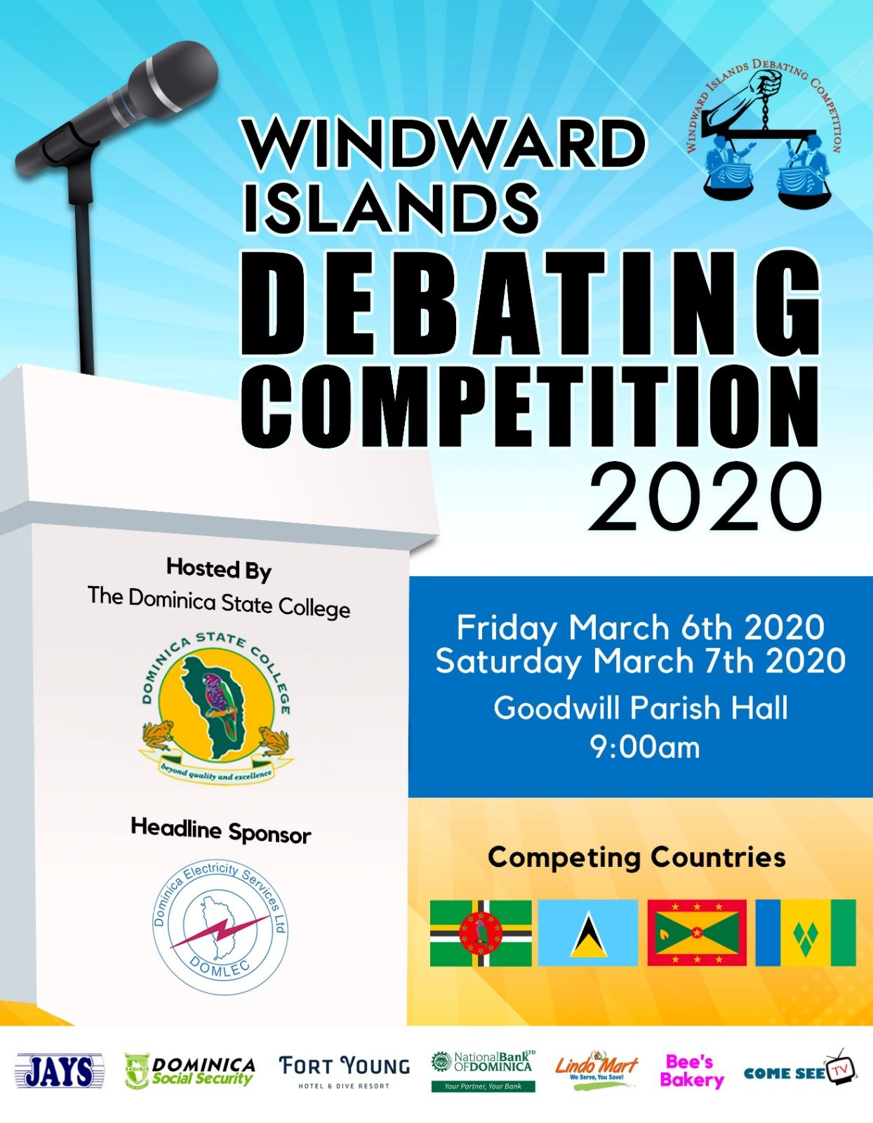Windward Islands Debating Competition 2020