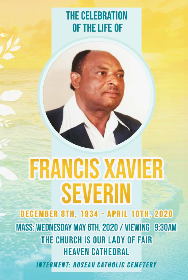 Funeral Service of Francis Xavier Severin 06 May 2020