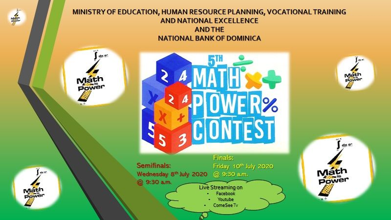 5th Math Power Contest (Finals) - Dominica