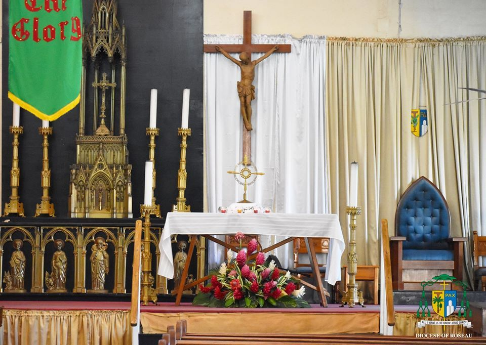 Our Lady of Fair Haven - First Communion Mass August 15 2020