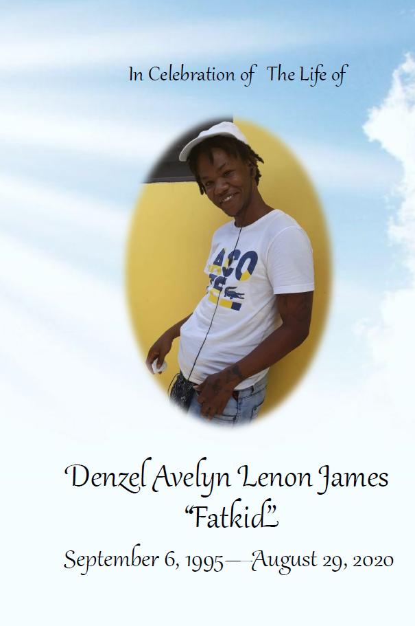 Funeral Mass of Denzel Avelyn Lenon James, 10 September 2020