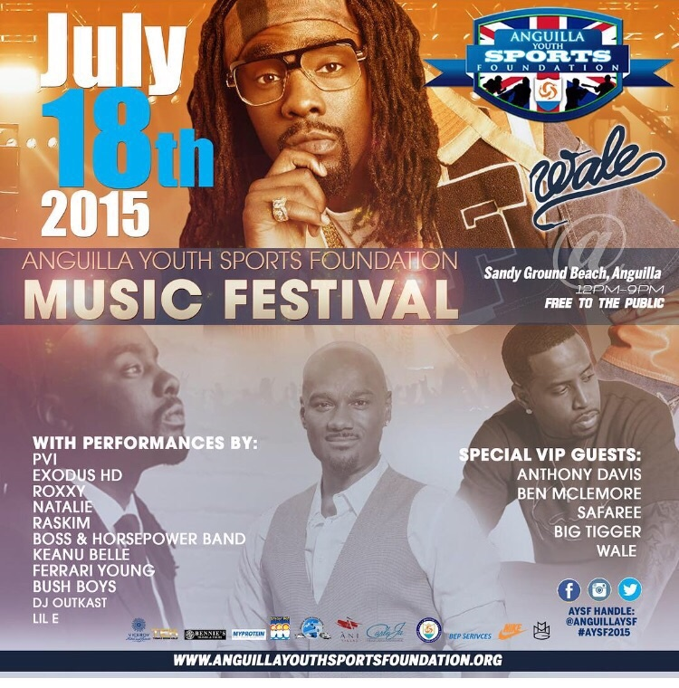 ''''Anguilla Youth Sports Foundation Music Festival 2015''''