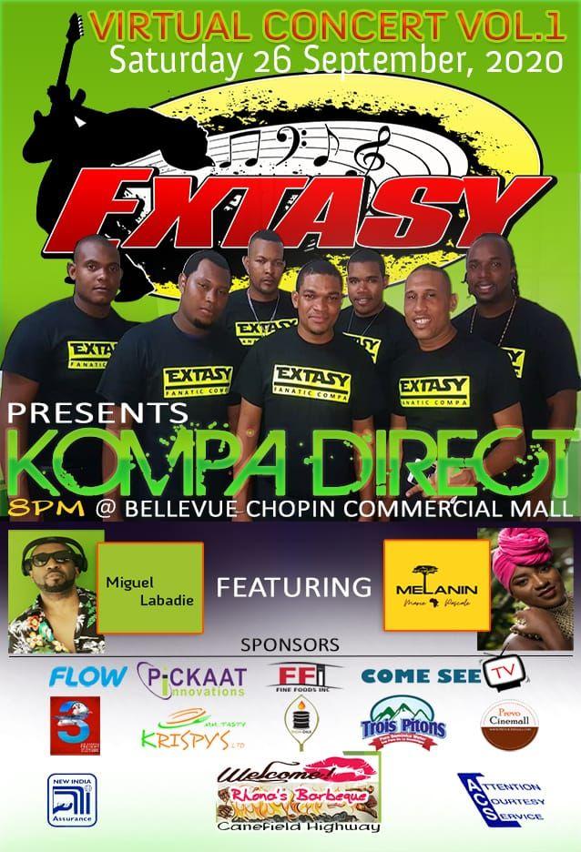 Extasy Band presents KOMPA DIRECT Virtual Concert Volume 1