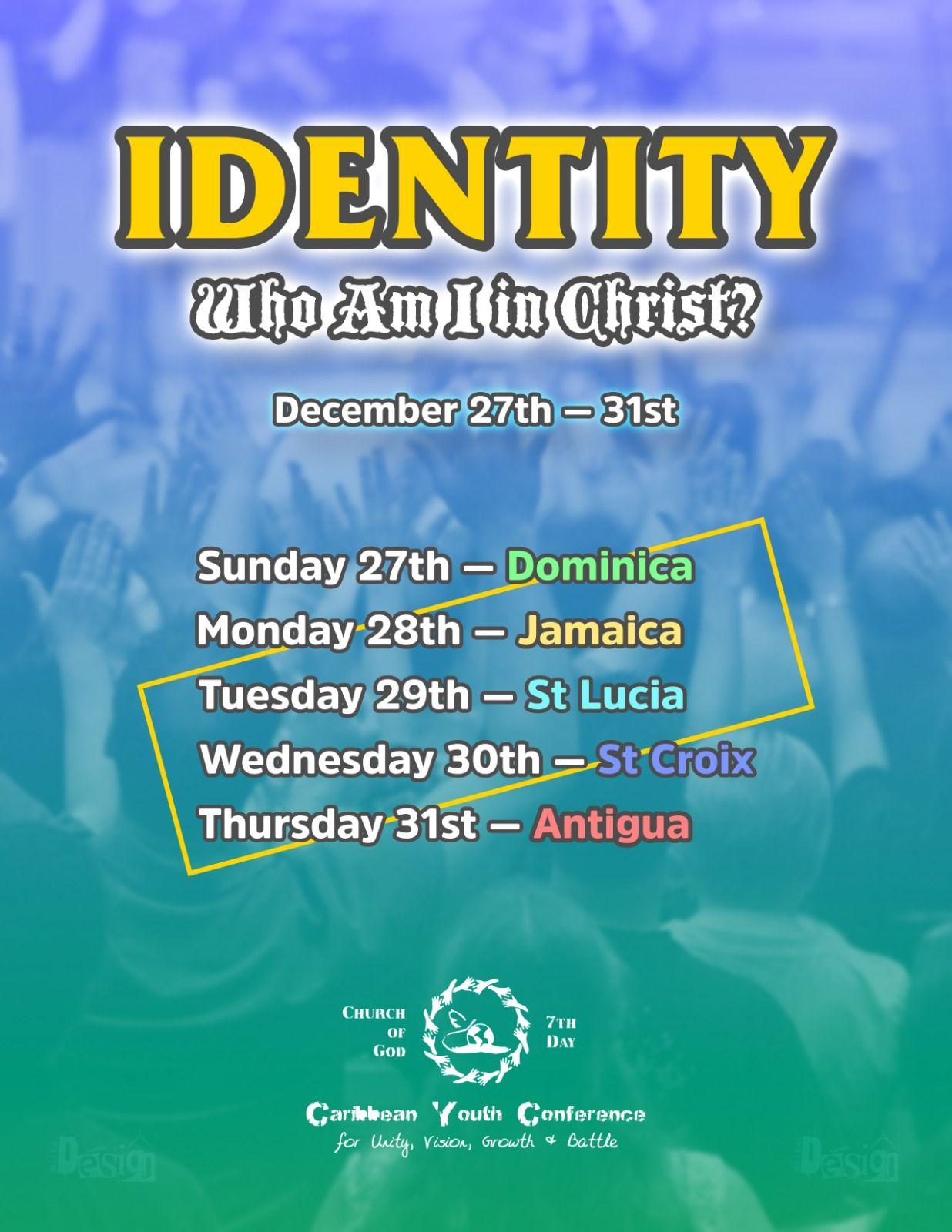 Church of God 7th Day (Dominica) - CYC Virtual Youth Retreat, 27 December 2020