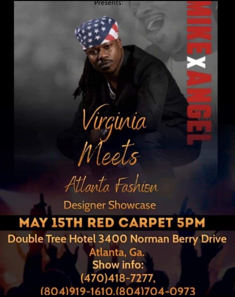 Virginia Meets Atlanta Fashion Designers Showcase, May 15 2021
