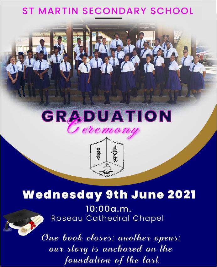 St Martin Secondary School Graduation Ceremony 2021