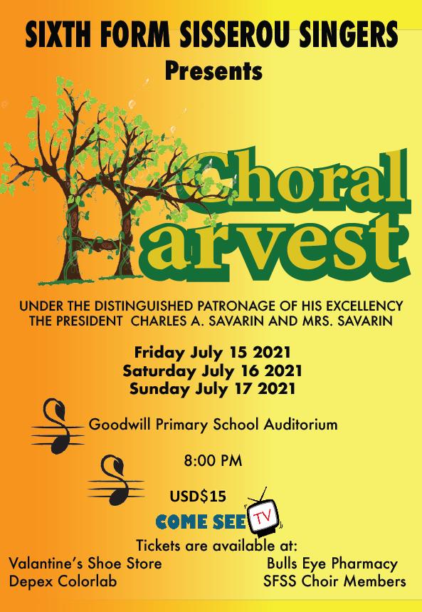 Sixth Form Sisserou Singers Presents Choral Harvest!