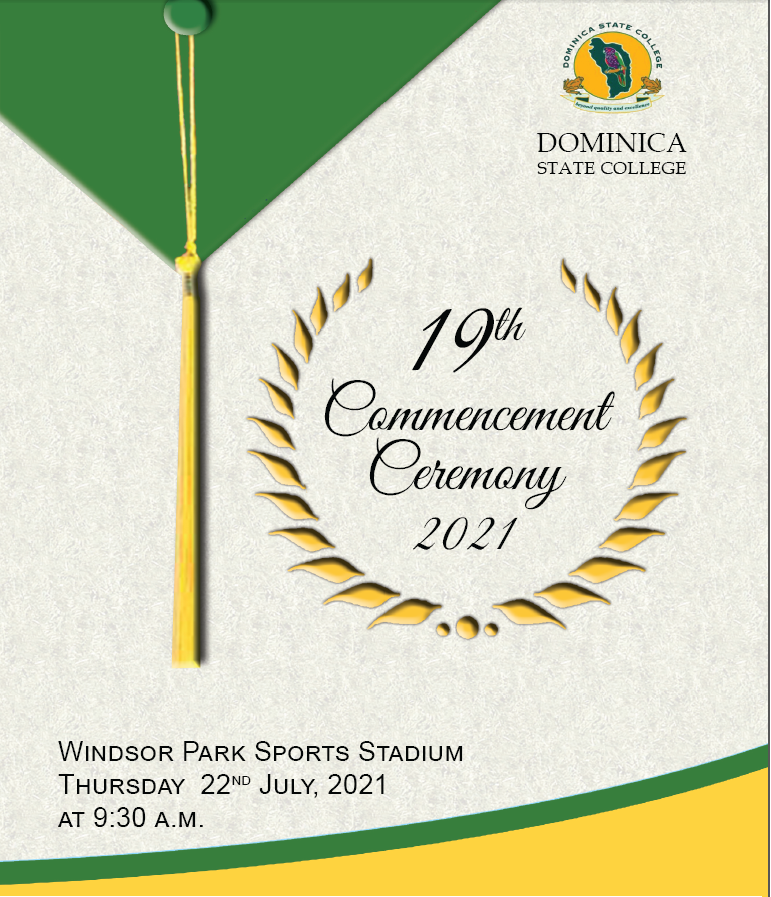Dominica State College 19th Commencement Ceremony, 22 July 2021