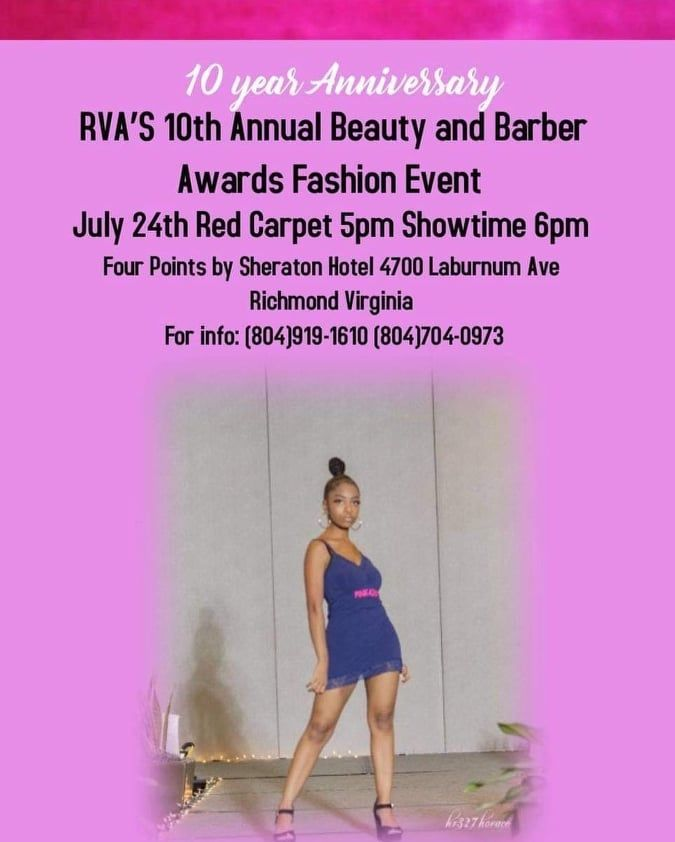RVA 10th Annual Beauty and Barber Awards Fashion Event