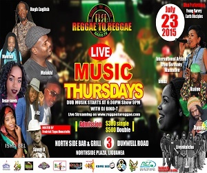 '''''''''''Reggae To Reggae - Live Music Thursday featuring Mamadee'''''''''''